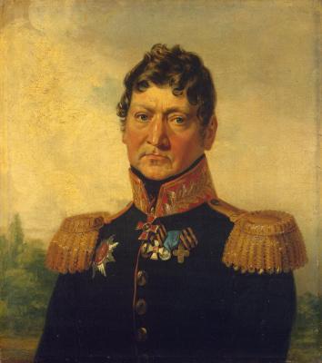 George Dow. Portrait of Andrei Pavlovich Zass