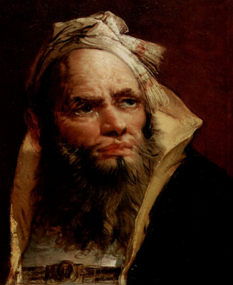 Giovanni Battista Tiepolo. Head of a man in Oriental dress