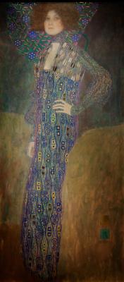 Gustav Klimt. Emilie Flöge
