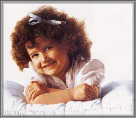 Чарльз Гехм. Маленькая девочка