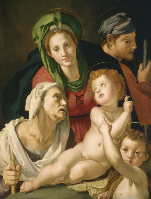 Agnolo Bronzino. The Holy Family