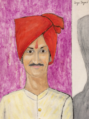 Serge Jagat. Crown prince Manvendra Singh Gohil (Kingdom of Rajpipla)