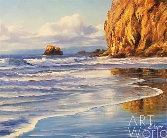 Daria Feliksovna Lagno. Море. Волны. Отражения