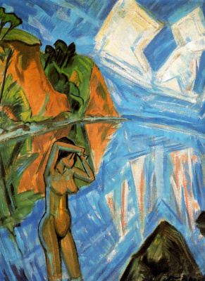 Erich Heckel. Glass day