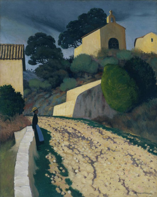 Felix Vallotton. Road