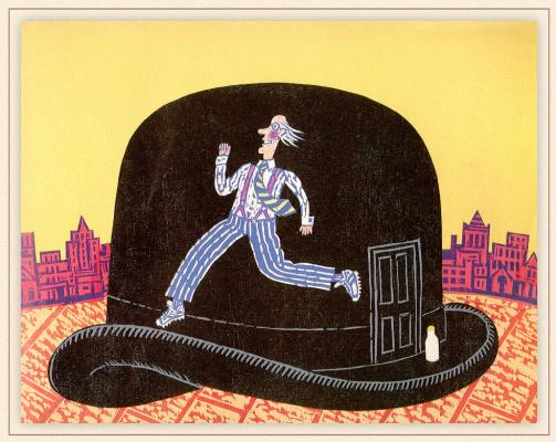 Бернард Лодж. Черная шляпа