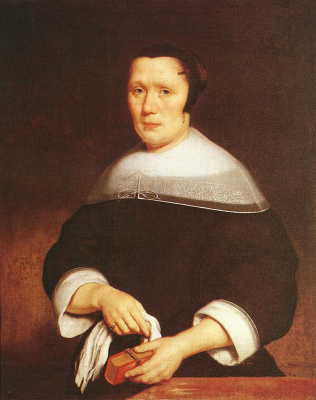Nicolas Mas. Female portrait