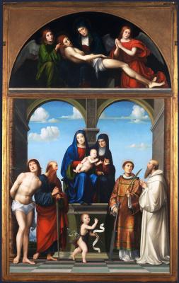 Франческо Франча. Алтарь Святой Анны из Сан-Фредиано, Лукка