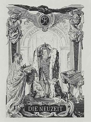 Adolf Friedrich Erdmann von Menzel. New time