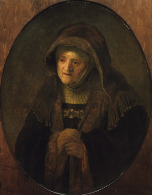 Rembrandt Harmenszoon van Rijn. The Prophetess Anna