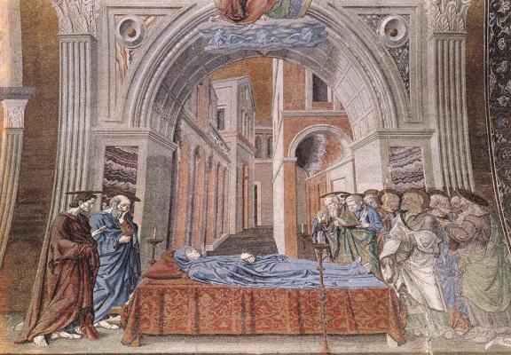 Андреа дель Кастаньо. Смерть Богородицы