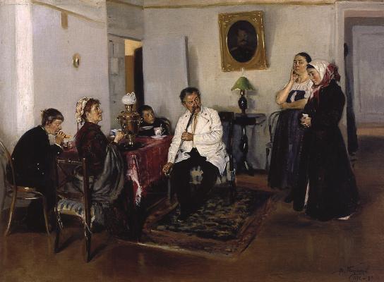 Vladimir Egorovich Makovsky. Hire help