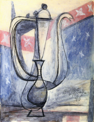 Pablo Picasso. Coffee pot
