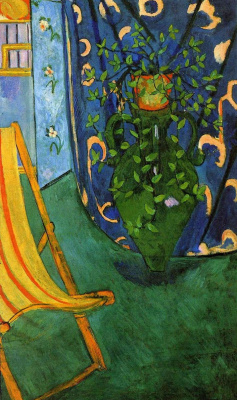 Henri Matisse. Corner of the Artist's Studio