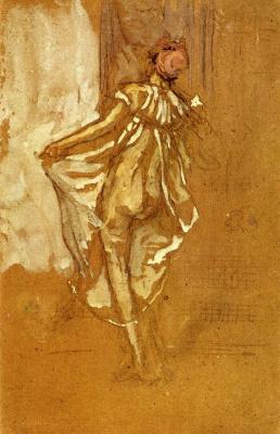 James Abbot McNeill Whistler. Dancing woman