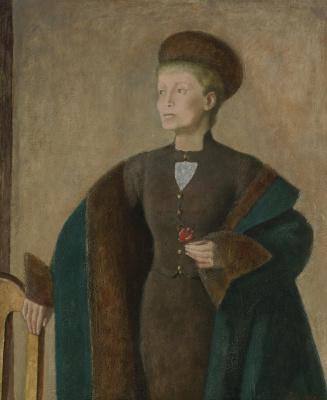 Balthus (Balthasar Klossovsky de Rola). Portrait of Helen Anavi