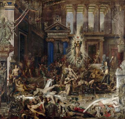 Gustave Moreau. Grooms Penelope