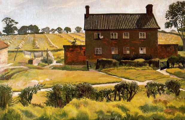 Stanley Spencer. A Sunny afternoon