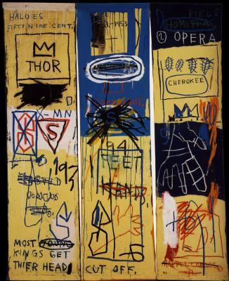 Jean-Michel Basquiat. Charles The First