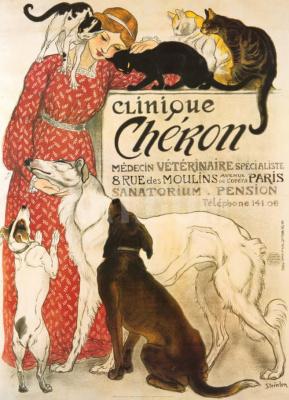 Theophile-Alexander Steinlen. Veterinary clinic Sharon