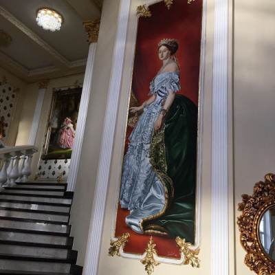 "Rimma Golovin. ""Portrait of Princess Eugenia"""