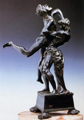 Антонио Поллайоло. Антонио Геракл и Антей