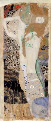Густав Климт. Подруги (Водяные змеи I)