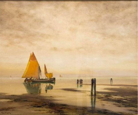 Ричард Александрович Берггольц. Неаполитанский залив