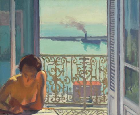 Albert Marquet. Open window