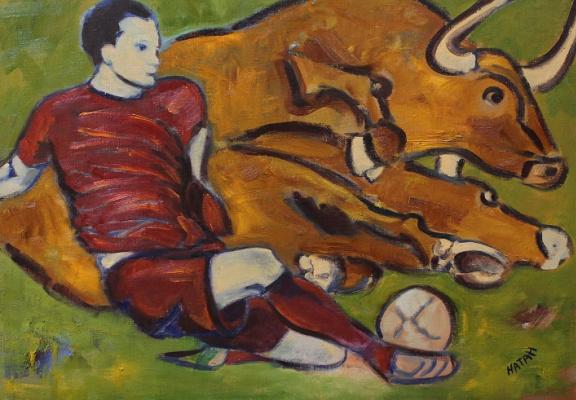 Nathan. Football