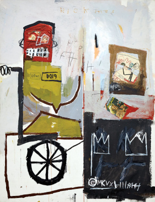 Jean-Michel Basquiat. Number 4