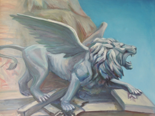 Мария Пенья Ферия. Венеция. Крылатый лев