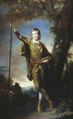 Joshua Reynolds. Thomas Lister, later Baron Ribblsdale (Boy in Brown)
