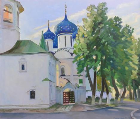 Svetlana Alexandrovna Rupasova. Suzdal. Kremlin