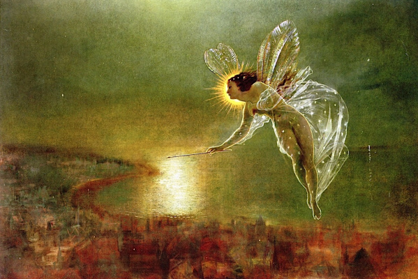 John Atkinson Grimshaw. Spirit of the night