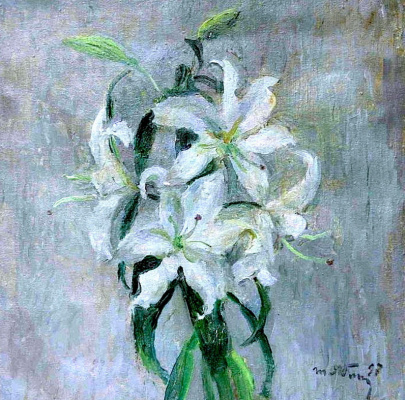 Tetyana Yablonska. Lilies, donated by the daughter