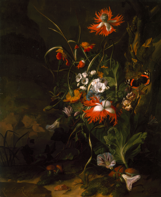 Rachelle Ruysch. Land in the forest