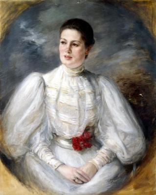 Жак Эмиль Бланш. Женский портрет