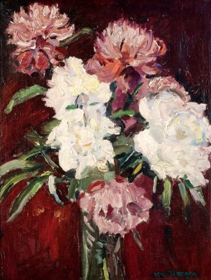 Kees Van Dongen. A bouquet of flowers