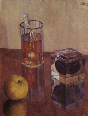 Kuzma Sergeevich Petrov-Vodkin. Still life with inkwell