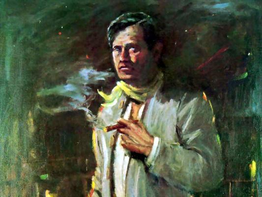 Ли Маккарти. Мужчина с сигарой
