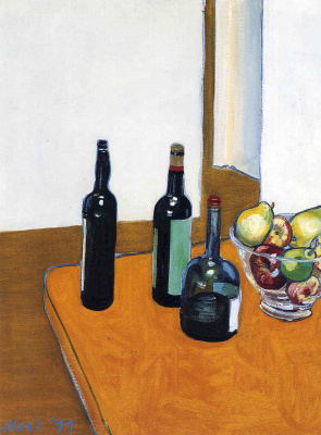 Алиса Нил. Бутылки на столе