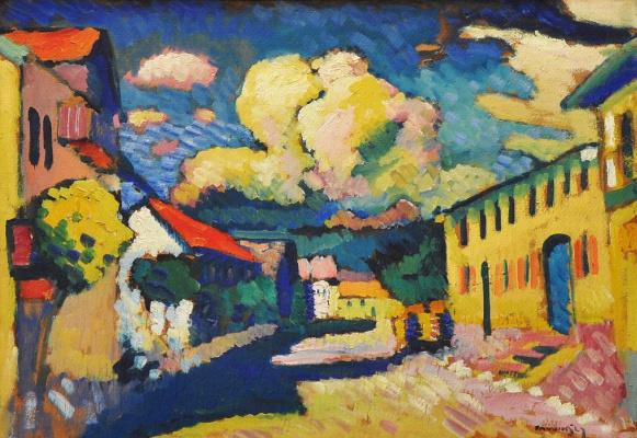 Wassily Kandinsky. Murnau. A Village Street