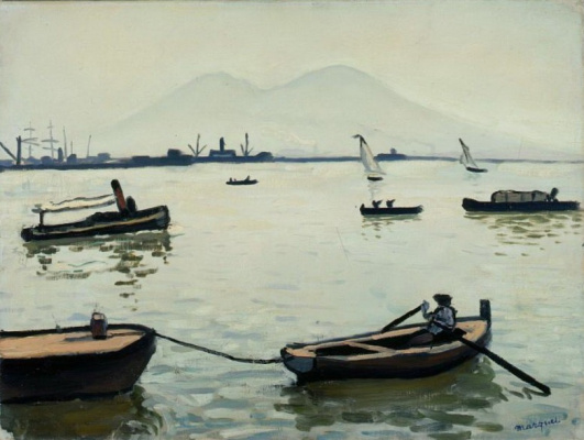 Albert Marquet. Vesuvius