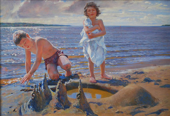 Ljubov Belych. On the Sands