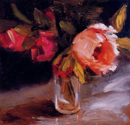 Лаел Вейенберг. Октябрьские розы