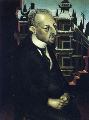 Otto Dix. Portrait of the lawyer Dr. Fritz Glaser