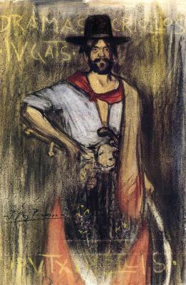 Пабло Пикассо. Фредерик Пухула-и-Вайес в образе гаучо