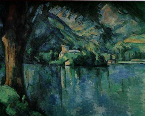 Поль Сезанн. Озеро Деннеси