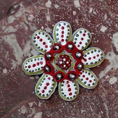 Tatyana Turanova. Cactus Flower Brooch